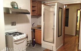 27 orchard street, shower in the kitchen nyc