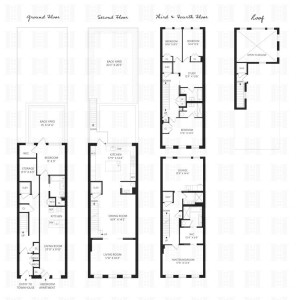 442 Union Street, Platt Dana Architects, private landscaped backyard