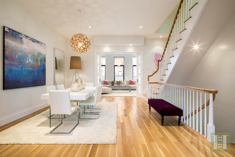 Modern carroll gardens townhouse asks 6sqft Elevator townhomes