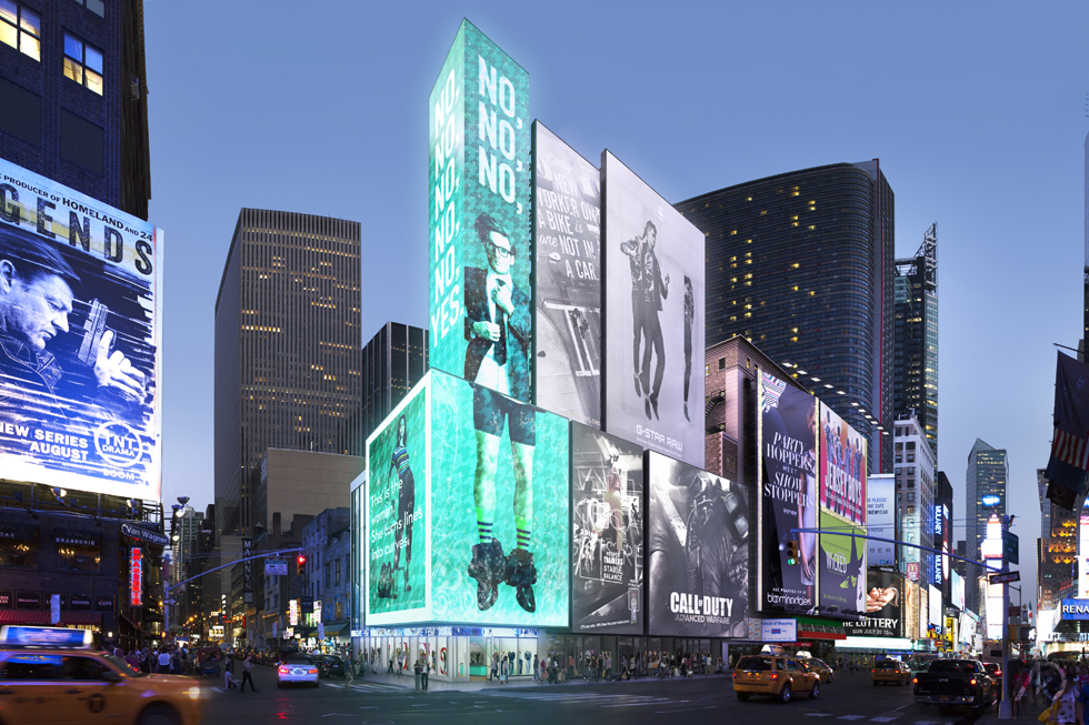 Revealed Sl Green To Build Another Times Square