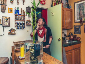 Artist Hector Castaneda, Photographer Hector Castaneda, spanish harlem design, spanish harlem apartments, cool nyc apartments, cool harlem apartments, nyc artist homes