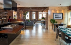 93 Crosby Street, Classic Soho loft, exposed brick walls, wood beam ceilings