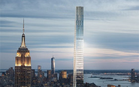 111 West 57th Street, SHoP Architects, skinniest tower in the world, NYC supertalls, tallest buildings, 432 Park Avenue