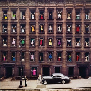 Ormond Gigli, New York City (Girls in the Windows), Sotheby's, The New York Sale auction