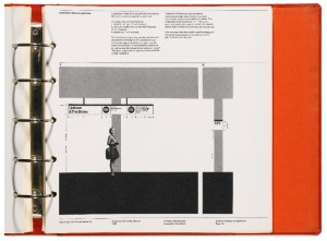 Massimo Vignelli, Bob Noorda, NYC Transit Authority Graphics Standards Manual