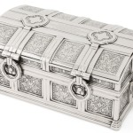 Sotheby's, Tiffany & Co., Art Deco cigar box, The New York Sale auction
