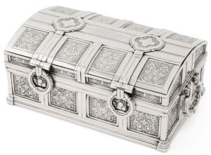 Sotheby's, Tiffany & Co., Art Deco cigar box, The New York Sale auction