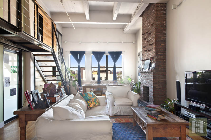 Bask In Manhattan Views From The Roof Deck Of This $2.4M DUMBO Loft