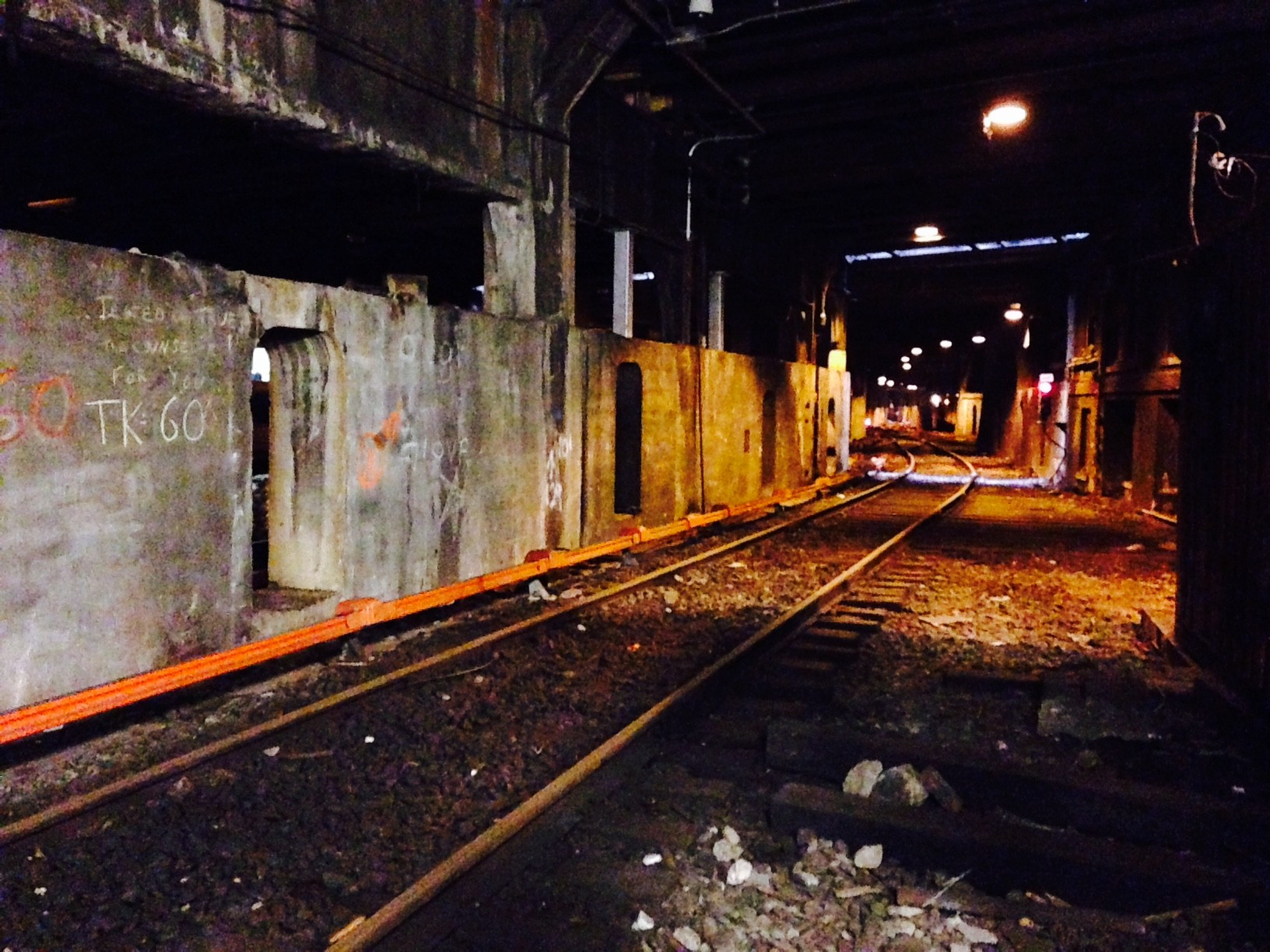 See inside the secret train track hidden in the depths of
