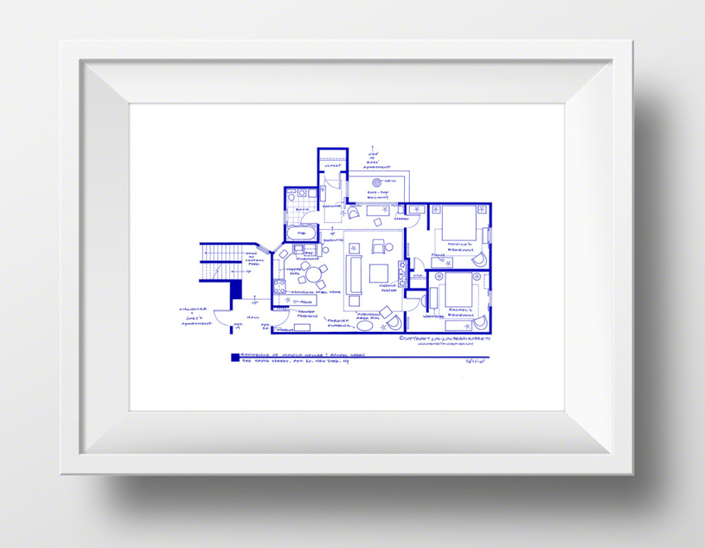 Fantasy Floorplans Bring To Life Your Favorite Tv Show