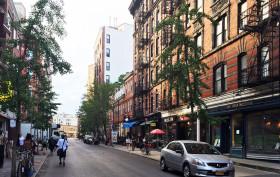 west village, west 4th street