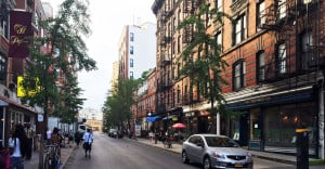 west village, west 4th street
