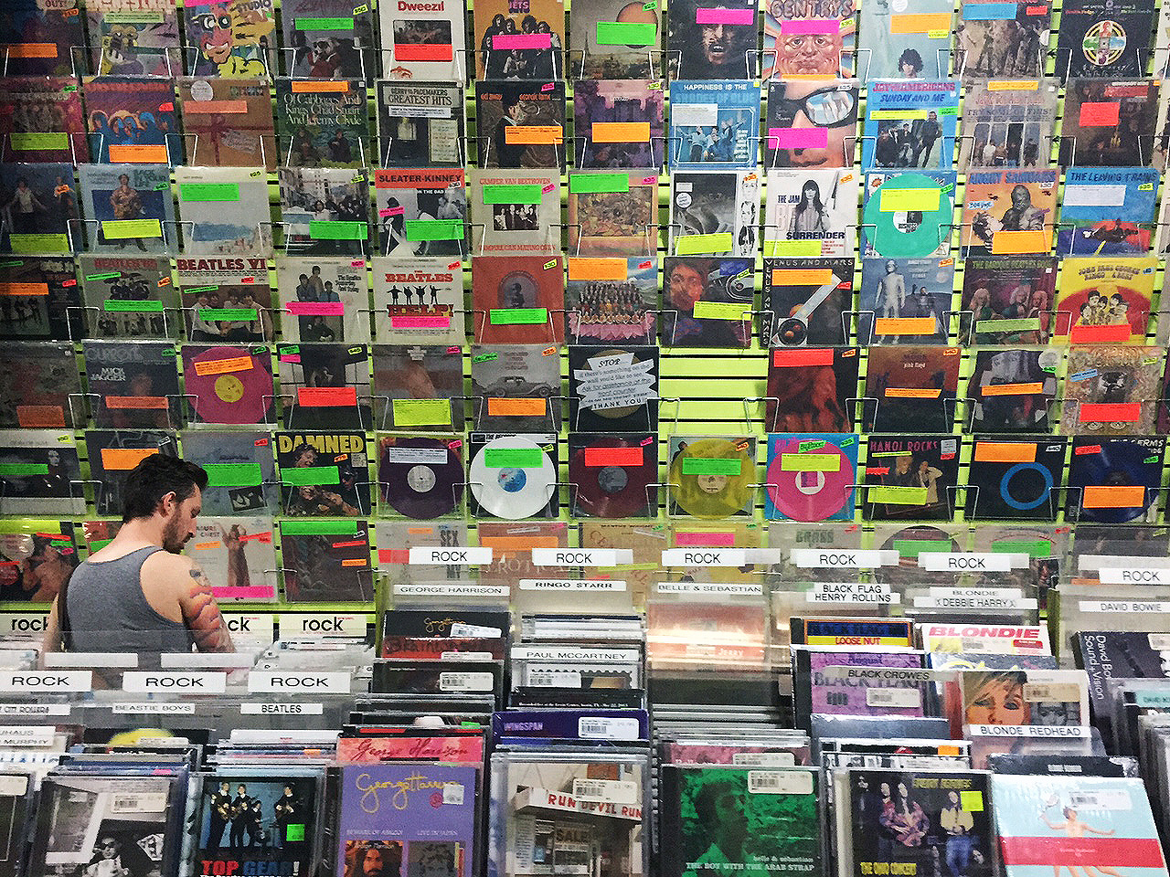 Bleecker Street Record Store NYC, peter kaye, nyc record store, record stores, vintage records, classic record stores nyc