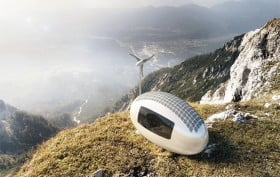 nice architects, ecocapsule, prefab design, off-grid,