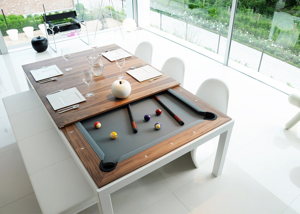 view photo in gallery - How To Make A Pool Table