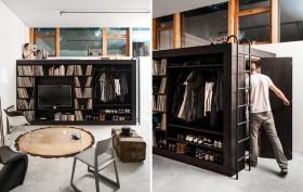 Living cube, Mini Cube, Urban Cube and Living Wall, German design, Till Konneker, multifunctional furniture, elegant design,