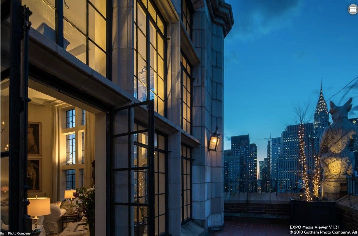 Windsor Tower Penthouse Boasts Amazing Gothic Style