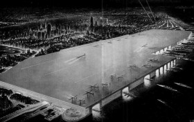 Manhattan Airport, William Zeckendorf, NYC Dream Airport