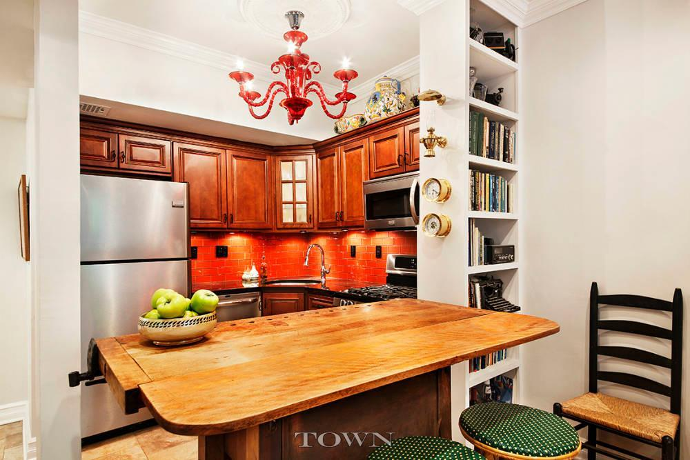 22 Irving Place, kitchen, co-op. Town