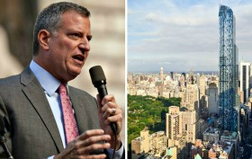 Mayor de Blasio, One57, mansion tax, 421-a