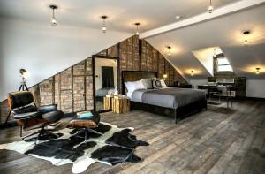 296 Manhattan Avenue, Williamsburg, bedroom, townhouse