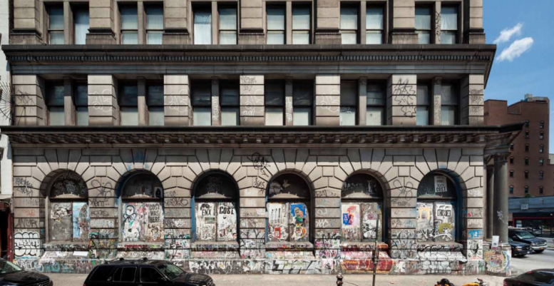 190 Bowery, ADA entry, Germania Bank Building, RFR Realty