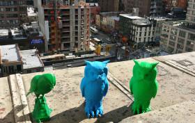 pigeon scarecrows, 3D printing, Robox