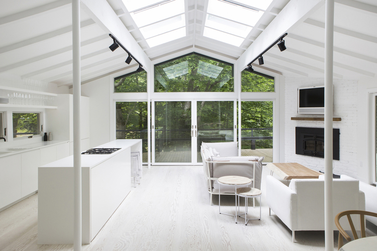 1980s A-Frame Home in the Hamptons Gets a Renovation Fit for a ...