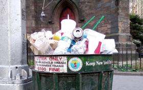 nyc trash, garbage, sanitation department