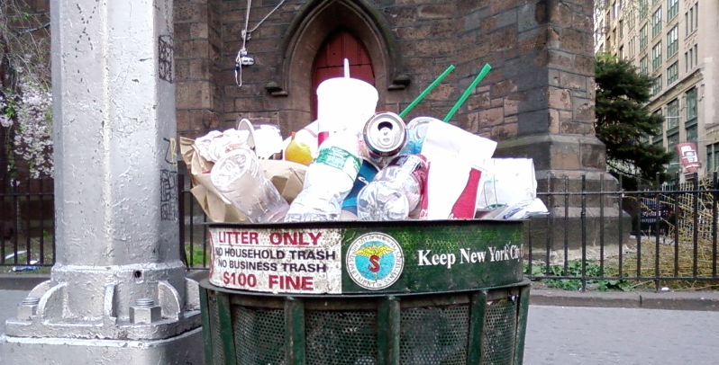 nyc trash, garbage, sanitation department