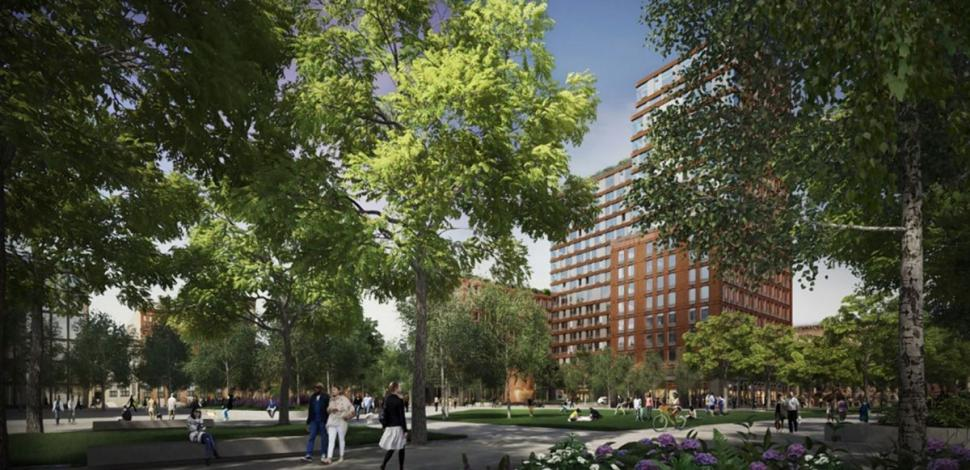 Pacific Park Brooklyn, Atlantic Yards, Pacific Park master plan, Greenland Forest City Partners, Thomas Balsley Associates
