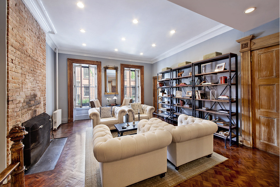 3M Brooklyn Heights Duplex Features Huge Outdoor Living Area Complete With A Fire Pit