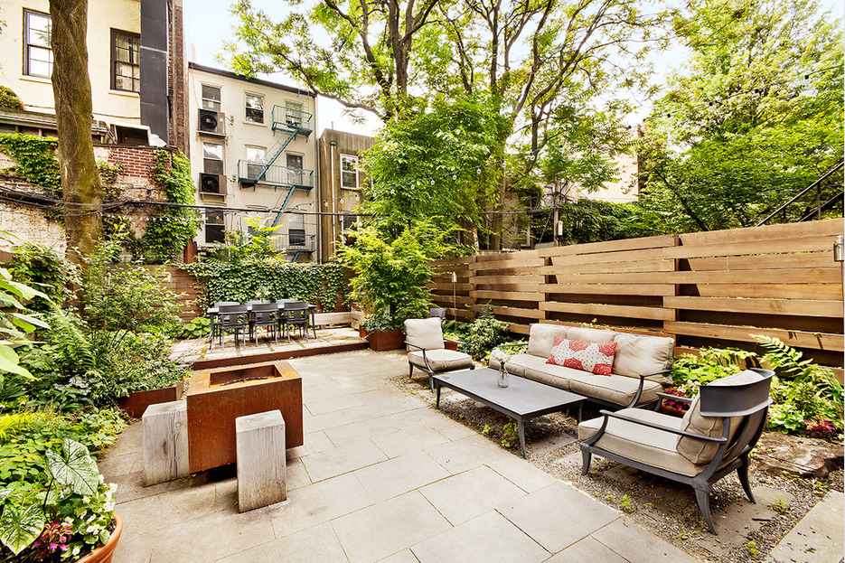 132 State Street, Brooklyn Heights, large backyard