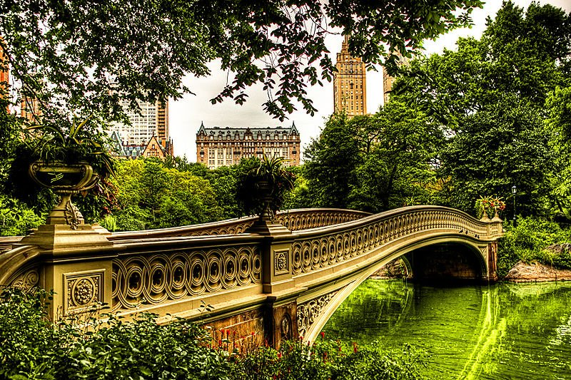 Bow Bridge Central Park