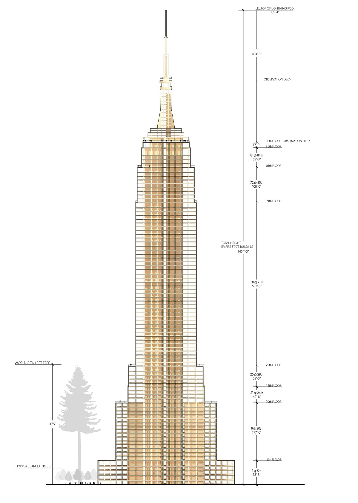 Metsä Wood, Empire State Building, wooden skyscrapers