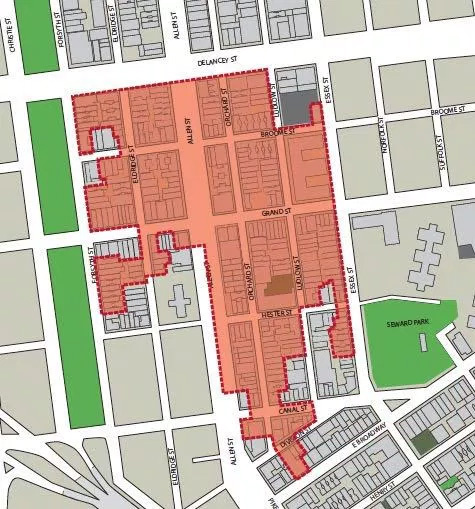 proposed lower east side historic district