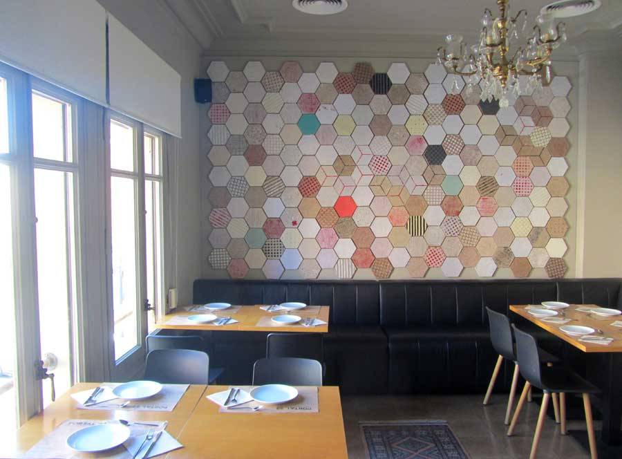 Wallpapering Decorate Your Space With These Quirky Paper Tiles By