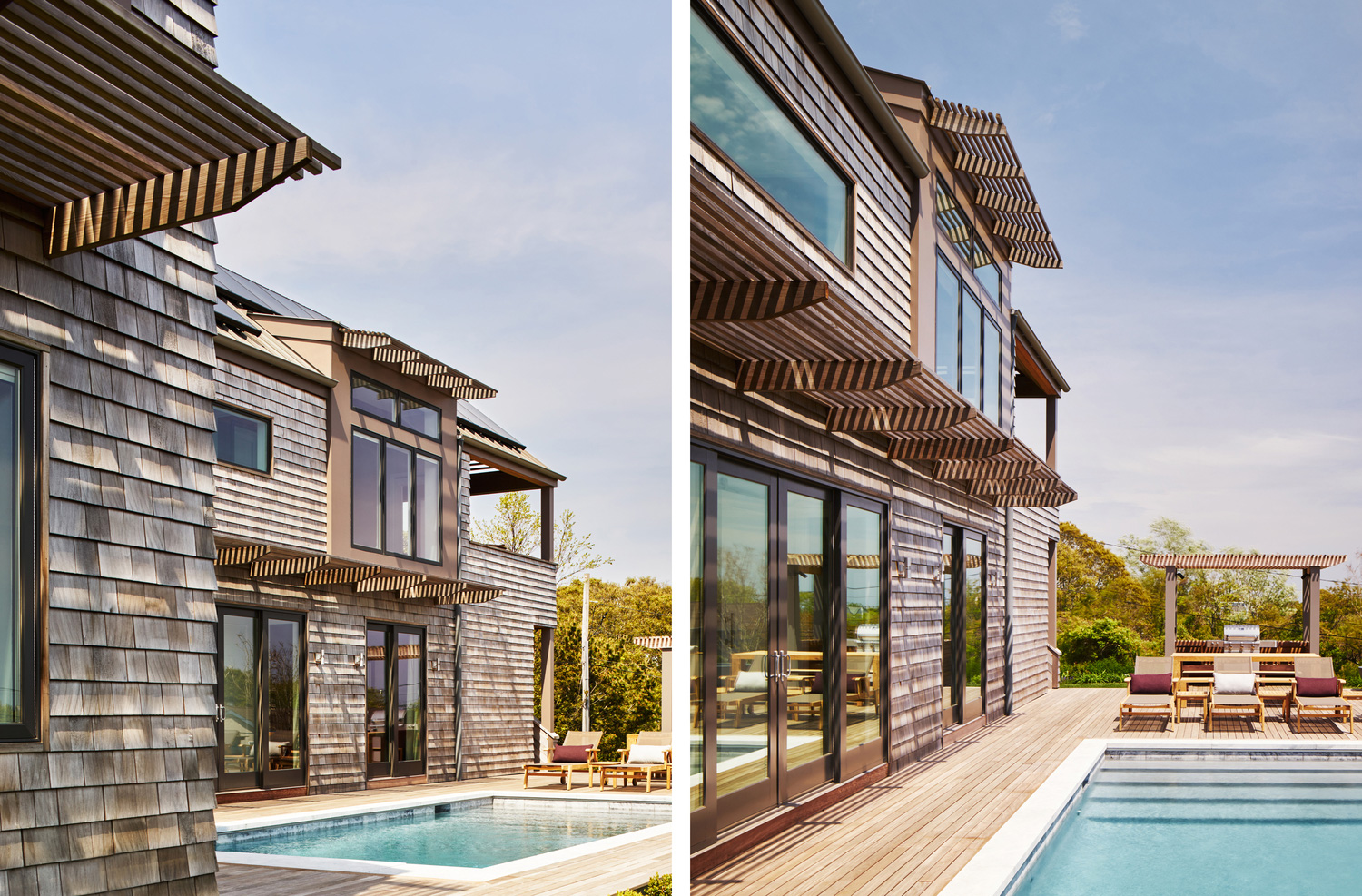 upside down house, bergdesign, montauk, hamptons houses