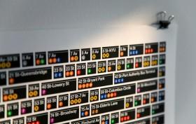 subway station poster, Hamish Smyth, Massimo Vignelli