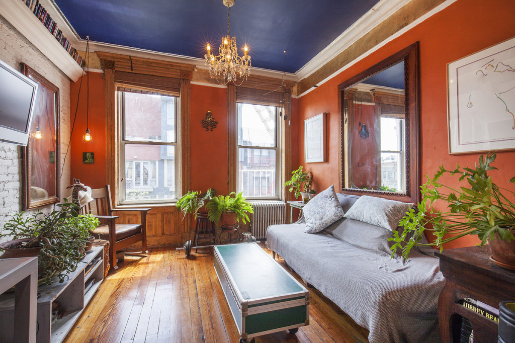 633 East 11th Street, Alphabet City, wood trim, common garden