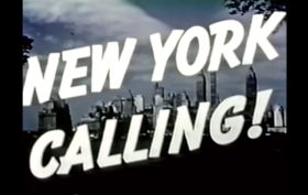 new york calling video 1940s 2