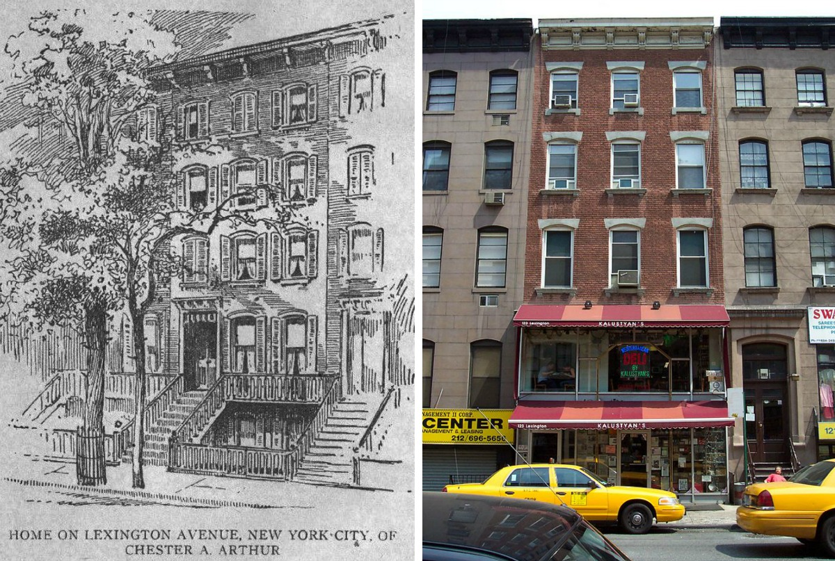 Chester A. Arthur House, President Arthur, Kalustyan's, NYC homes of U.S. Presidents