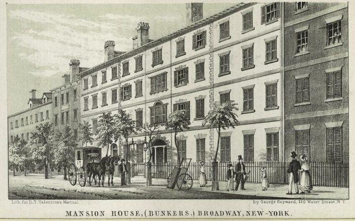 Alexander Macomb House, George Washington house NYC, presidential mansion