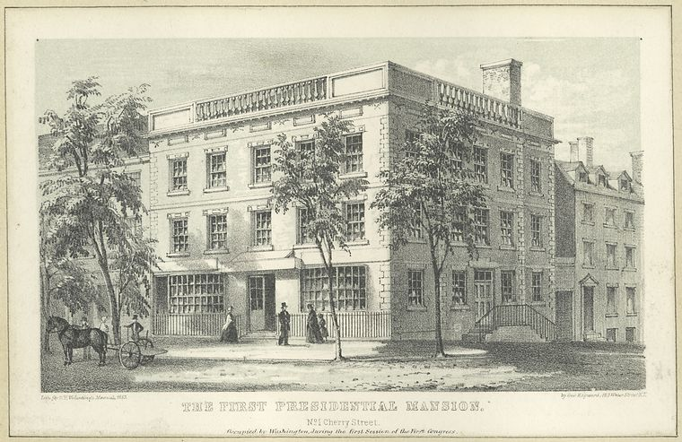 Samuel Osgood House, George Washington house NYC, presidential mansion