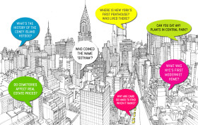 nyc skyline illustration
