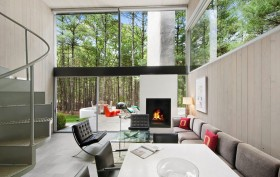 Sedacca House, 19 North West Landing Road, Charles Gwathmey, mid-century modern homes, Hamptons real estate
