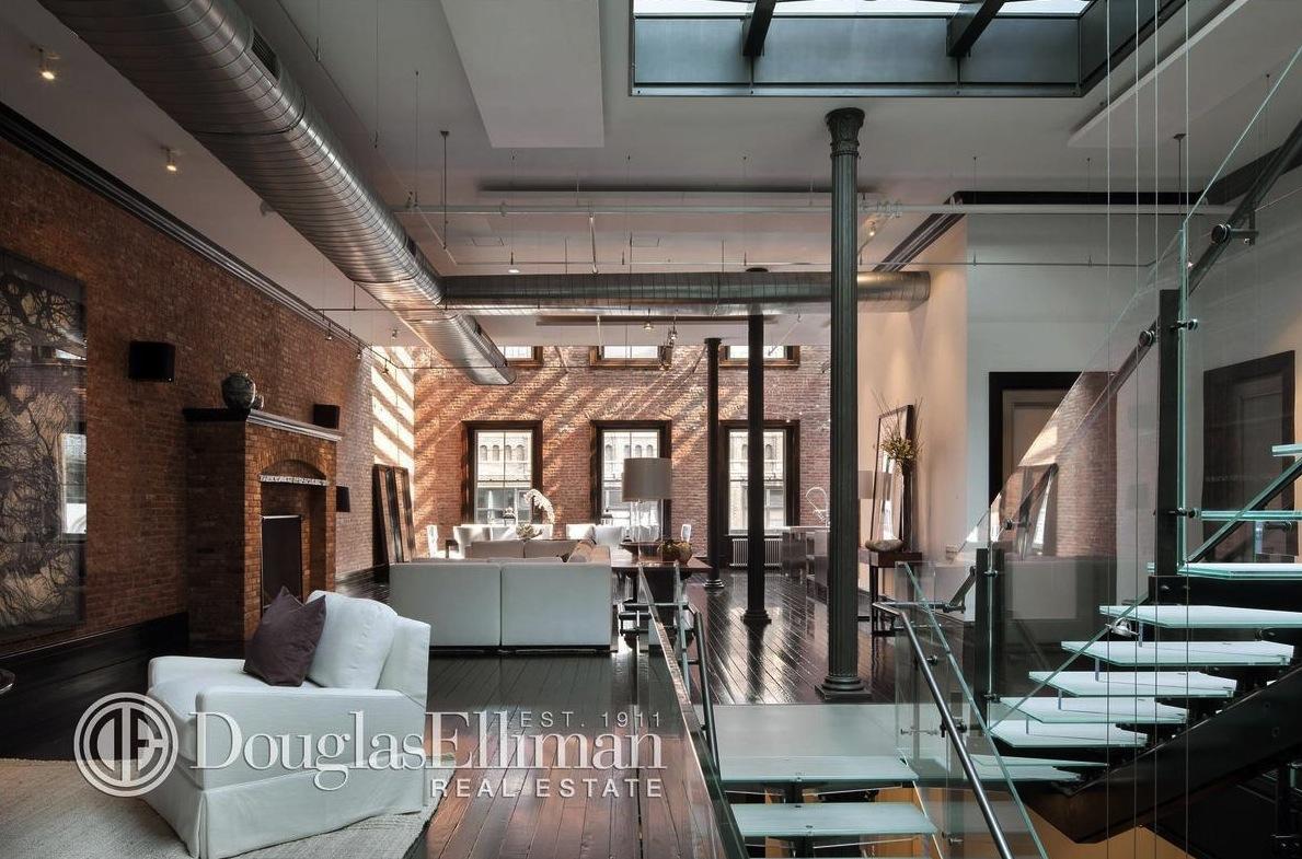 144 Duane Street, Tribeca, rental, penthouse, mansion