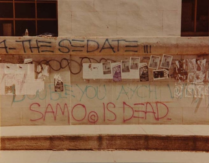 SAMO© is Dead, Jean-Michel Basquiat, Al Diaz