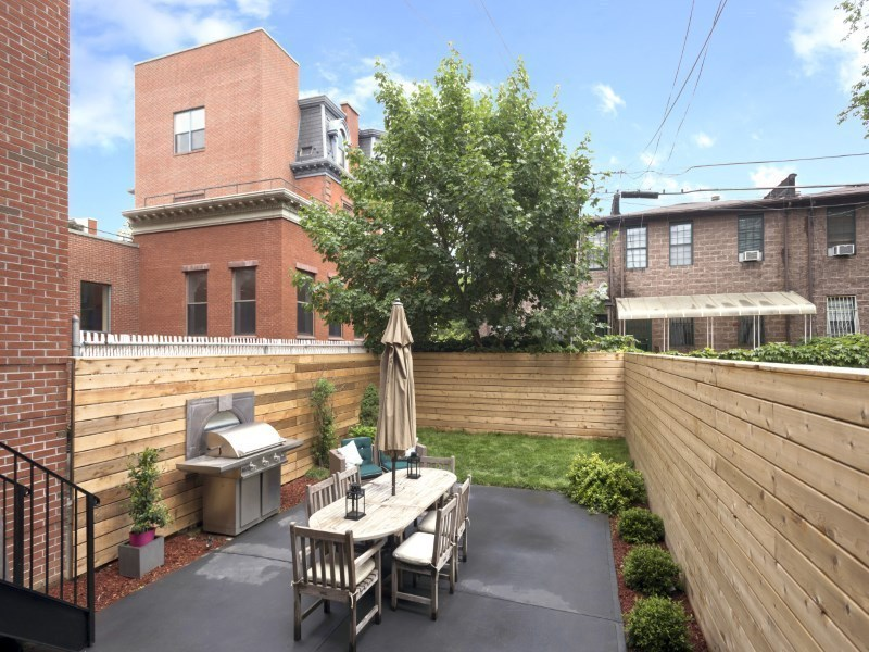 25 Monroe Street, backyard, bed stuy, brownstone,
