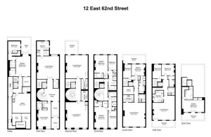 12-16 East 62nd Street, Upper East Side mansion, Safra family real estate, makeshift mansions